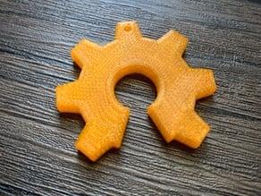 open source gear pendant