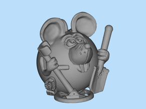mouse with metal detector