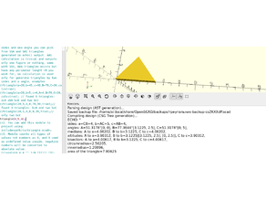 openscad triangle generator