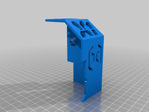 Extruder Cover with Cable Duct