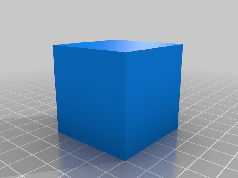 40x40x40 mm Simple Test Cube