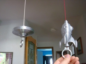 String climbing Rocket and UFO