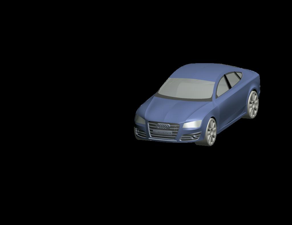 AUDİ A7 Car Body Modeling Easy Print