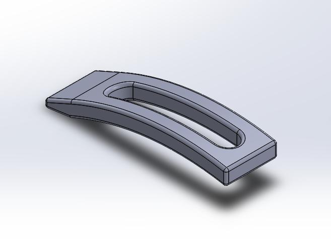 Low Profile CNC Item Clamp