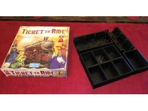 Ticket to Ride game box organizer