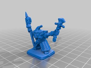HeroQuest - Wizards of Morcar - Orc shaman Grawshak