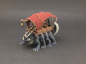 Ale Trader's Rig for 28mm miniatures gaming