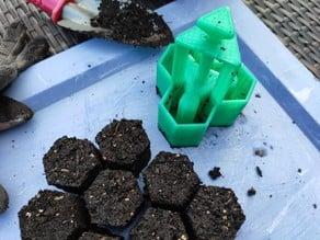 Soil Block Maker / Erdtopfpresse