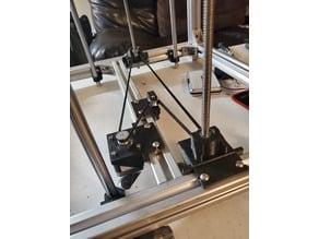 Hypercube Single Z motor, dual leadscrew