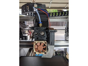 E3D V6 hotend with BLTouch for Linear guide and 2020 Extrusion