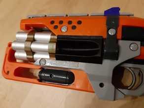 Nerf Hammershot 7 Dart Cylinder for 15x1mm Alu-Tubes