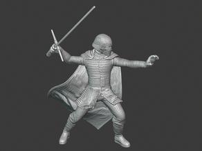 Kylo Ren - Star Wars (35mm wargaming miniature)