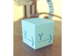 25mm Test Cube (yes, another)