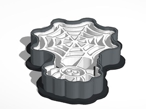 Haunted House & Spider with Web Cookie Cutters