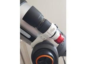 Support Astro pour objectif 100mm Canon (V1) - Fixation Vixen