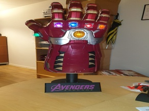Avengers Endgame Gauntlet stand/base MMU2 ready