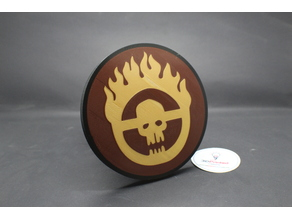 "Immortan Joe Sigil 2"" Trailer Hitch Receiver Plug Cover"