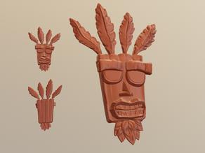 N'Sane Aku Aku - Crash Bandicoot Fan Art