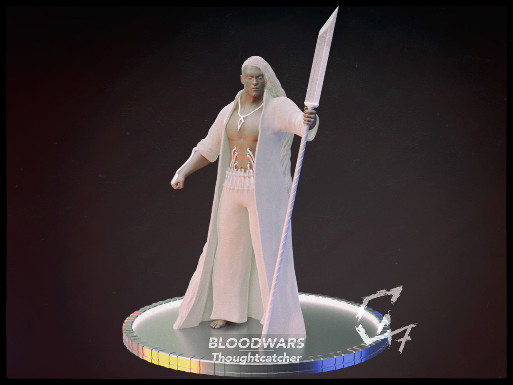 Bloodwars Thoughtcatcher Male Figurine