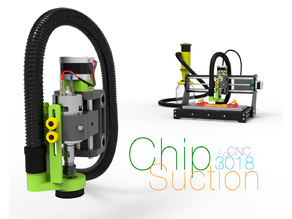 Chip Suction for CNC 3018