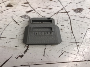 Blitz Shield Keychain