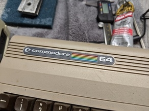 Commodore 64 label