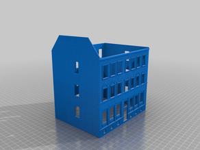 Building H0 Scale 1/87 - Leipzig Kötzschauerstraße