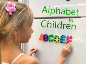 Alphabet for children. F G H I J