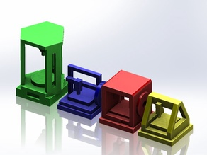 Mini 3D Printers for Common plastic Bricks