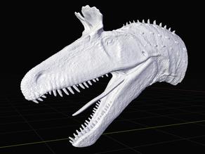 Cryolophosaurus Bust - Wrath of the Goliaths Dinosaurs