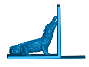 Alligator Bookends (Left and Right)