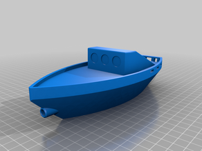 Unsinkable toy boat