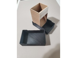 Mini dice tower with case