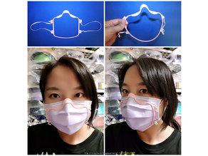 Covid-19  Mask - Face mask close to face