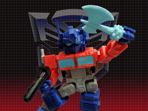 Optimus Prime Transformers - Print Optimized