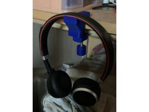 Clamp with Mount, Jabra Headphone