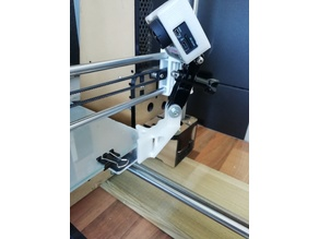GOPRO Mount For Anet A8 (With Glass)
