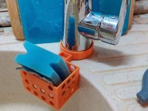 Sponge holder for 53mm water tap