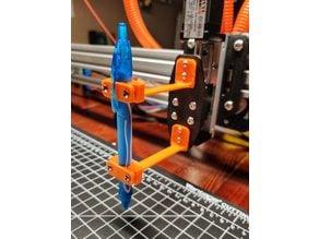 Pen Holder Attachment for CNC Plotter