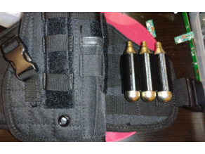 MOLLE CO2 cartridge holder for airsoft