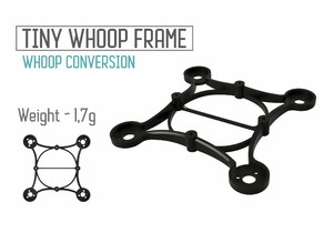 Tiny Whoop ultralight 65mm frame conversion