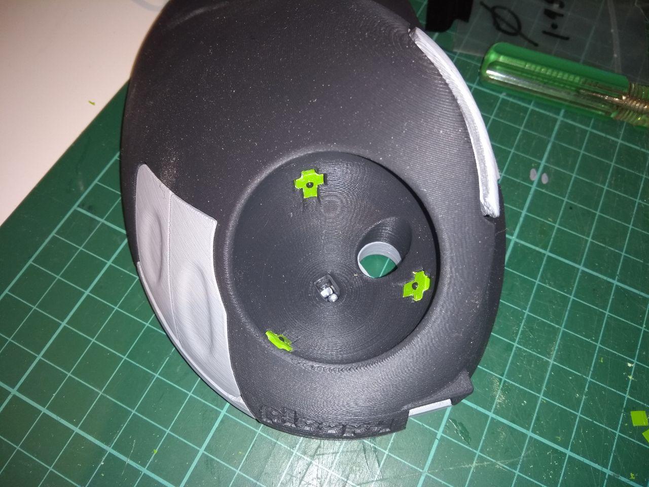 Ploopy trackball ball bearing adapter