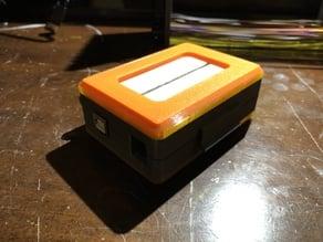 Arduino UNO case with breadboard holder