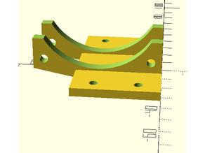 Parametric fan mount