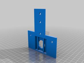 Ender 3 pro   Axe X damper adaptator