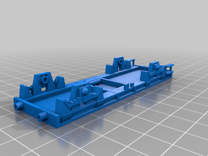 Railway car chassis