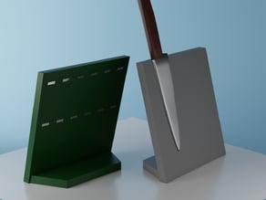 Magnetic knife block (parametric)
