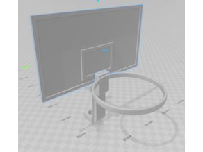 Basketball Desktop Fully printable clamp