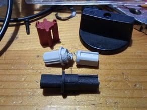 Sprecher + Schuh switch replacement knob shaft