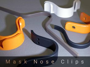 Nose Clips (for Face Masks) - Seven Varieties